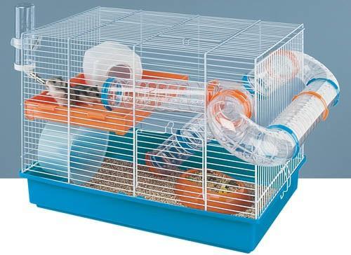 Maison du hamster - La plus grande cage a hamster du monde ...