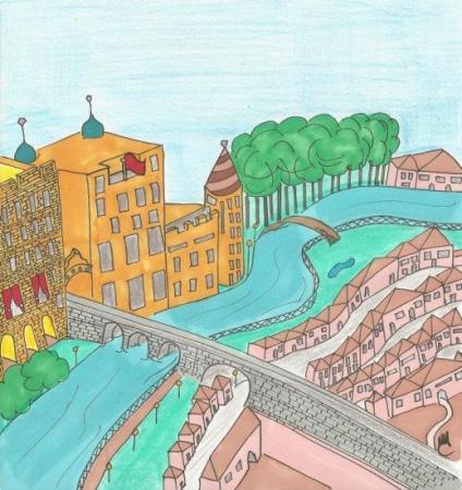 Illustration de Couverture d'Isidore Tiperanole et les trois lapins de Montceau-les-Mines