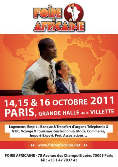 Affiche Foire Africaine