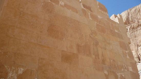 Murs de la troisième terrasse