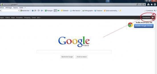 Ouvrir les r sultats de recherche google dans une nouvelle for Ouvrir dans une nouvelle fenetre