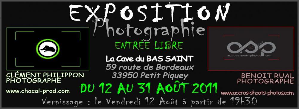 Exposition C.Philippon - B.Rual - Cave du Bas Saint