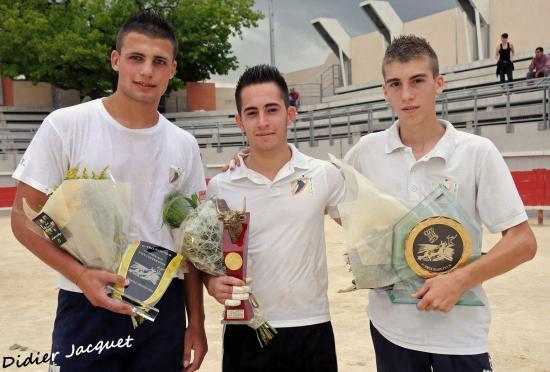 Les 3 vainqueurs... Soler, Vera, Charrade