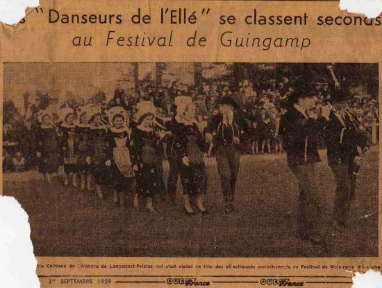1959 : Festival de Guingamp.