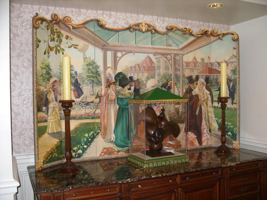 Une scene de vie au Disneyland Hotel
