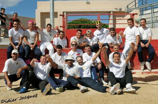 """L'équipe des """"Anciens"""" de l'ET de Bouillargues"""