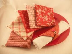 Porte serviette rouge