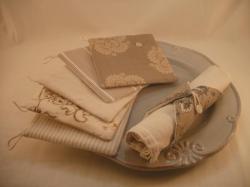 Porte serviette beige