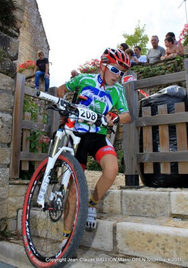 Simon GARRAUD vainqueur final minime