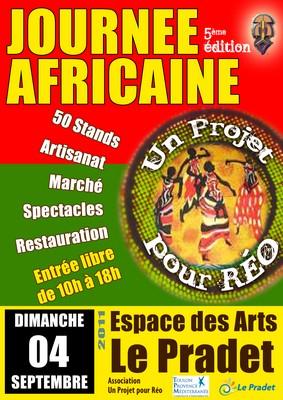 Affiche Journée Africaine