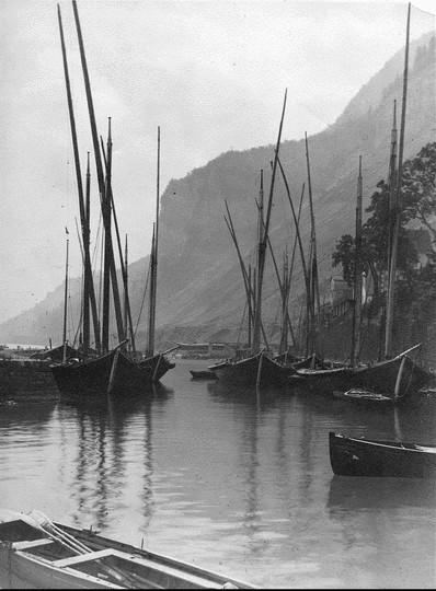 les barques de Meillerie