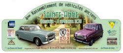 Plaque Rallye 2011