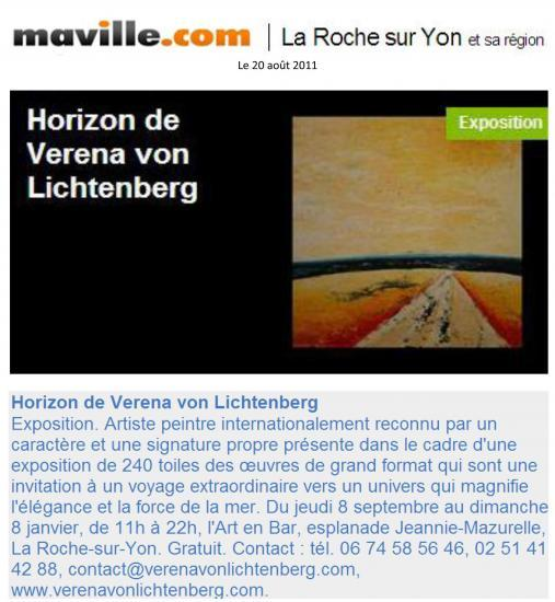 Ma ville La Roche sur Yon