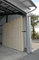 Instalation intérieure, contenance 6400 litres