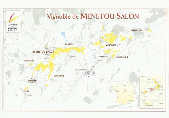 Vignoble de menetou salon for Commune menetou salon