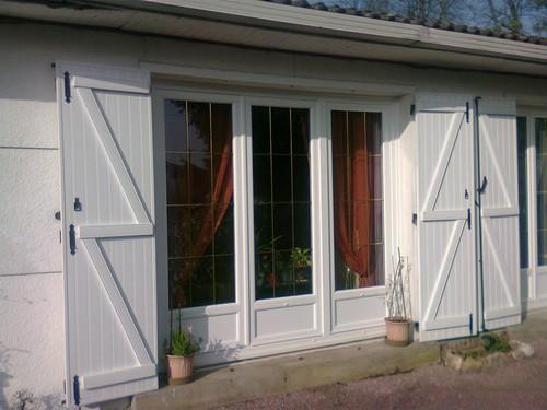 Porte fenetre pvc renovation lapeyre for Renovation fenetre bois prix