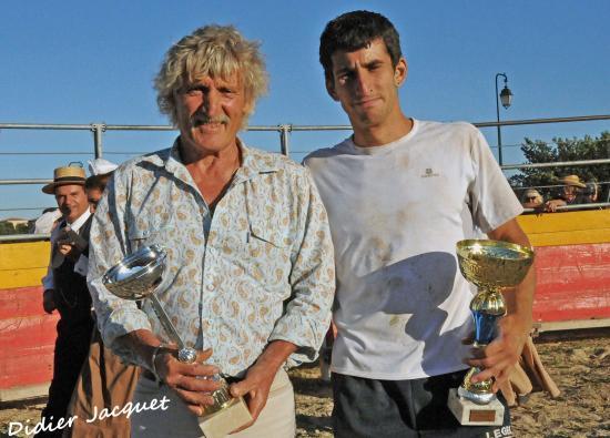 Aurélien Martin et Yves Jacquot... les vainqueurs !!!