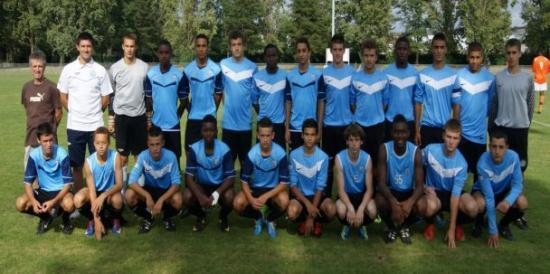 Groupe U17 Nationaux Tours FC - Saison 2011/2012
