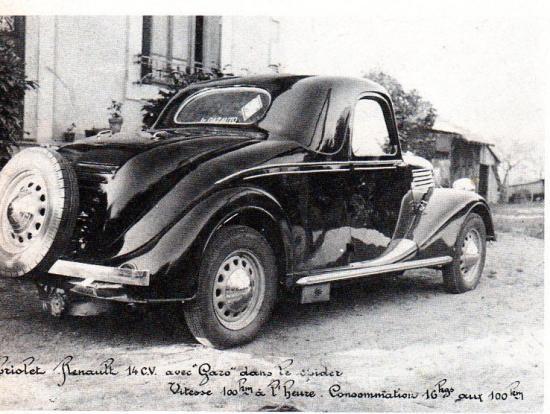 Cabriolet Renault