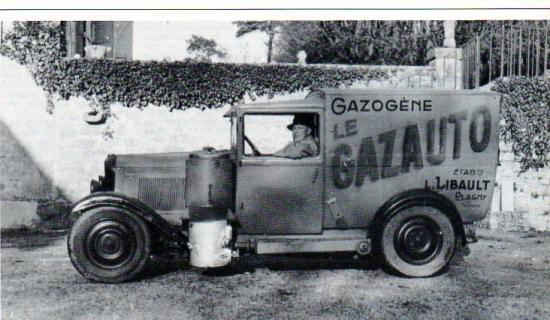 Véhicule équipé d'un gazauto