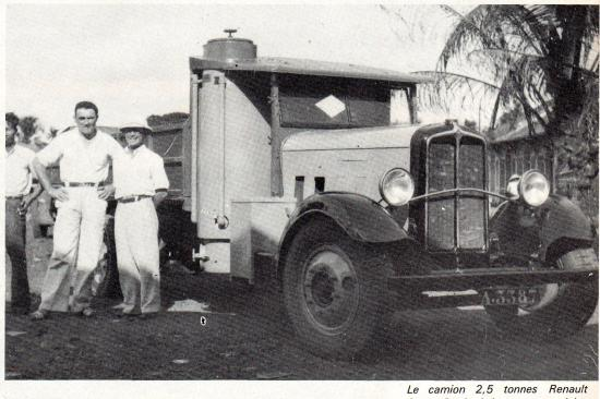 Camion Renault 2,5 t