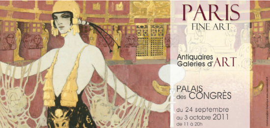 Paris Fine Art 2011 au Palais des Congrès