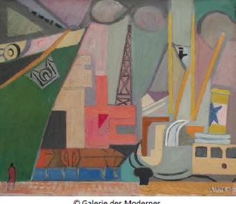 La galerie des Modernes
