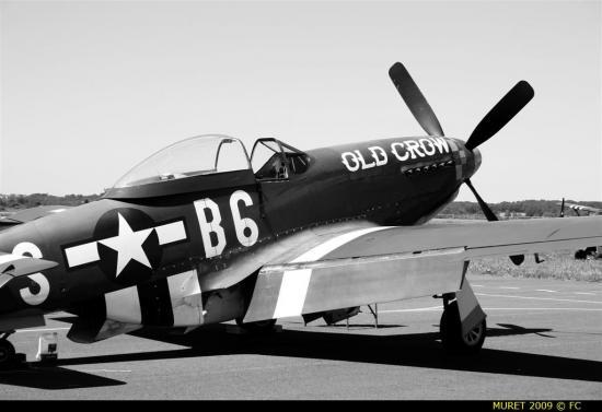 Les Avions P51-old-crow