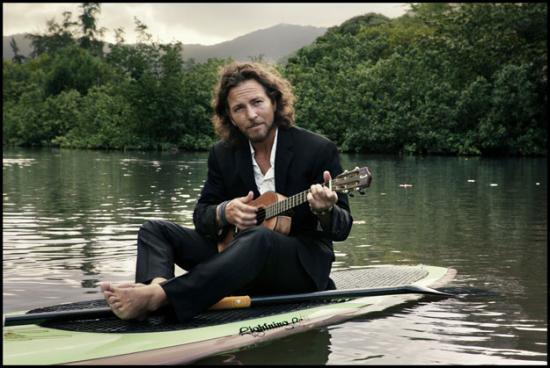 Eddie Vedder ukulélé