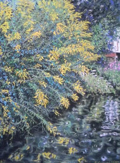 Gerbes d'Or au bord du Marais