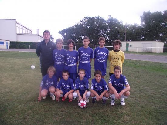 U 13 équipe 1 2010 / 2011