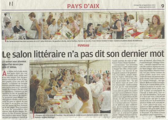 PAYS D'AIX  FUVEAU 2011
