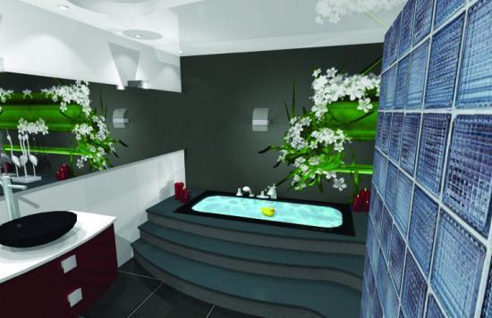 plans techniques pour cuisines et salle de bains visualiss en 3d et prparation des commandes - Amenagement Suite Parentale Dressing Salle De Bain