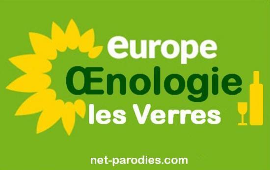 parodie faux logo europe ecologie les verts