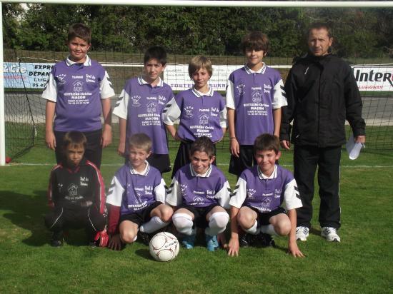 U13 équipe 2 2010 2011