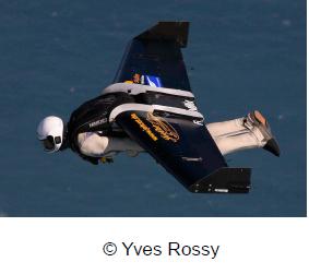 Yves Rossi alias Jet Man