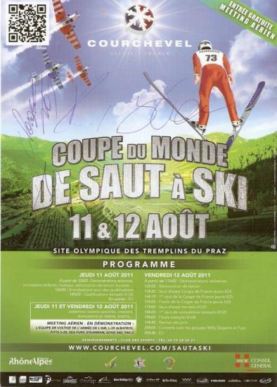 Courchevel coupe du monde d 39 ete de saut a ski - Coupe du monde de ski courchevel ...