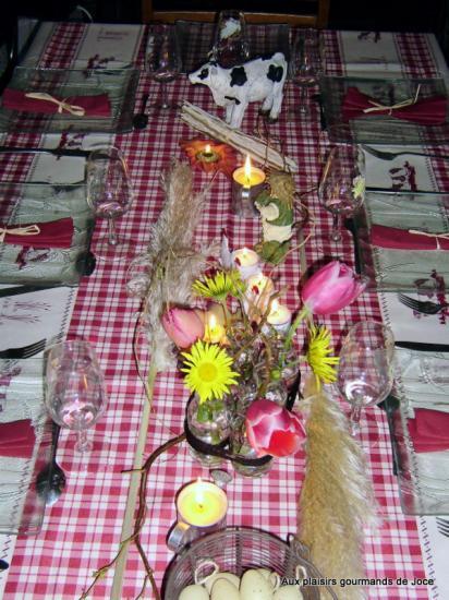 Decoration De Table Theme La Ferme