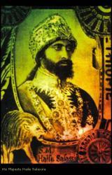 sa majesté haillé selassié ( dieu des rastafari)