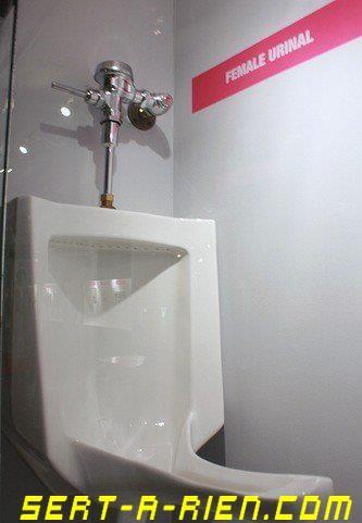 Toilette pour filles