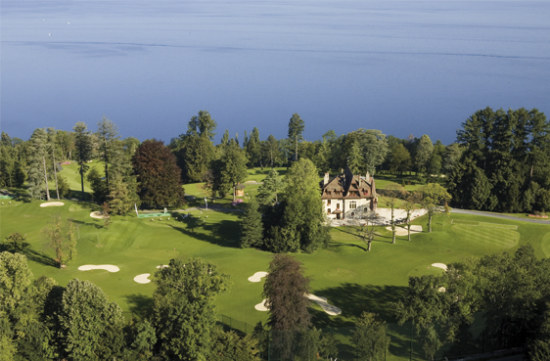 Evian Masters Training center