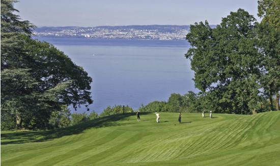 des conditions de rêve pour jouer au golf