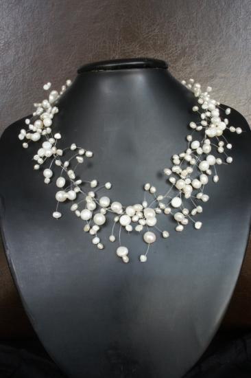 modele collier de perle gratuit
