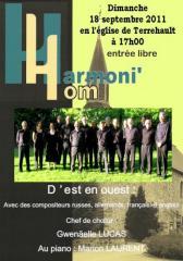 Concert du 18 septembre 2011
