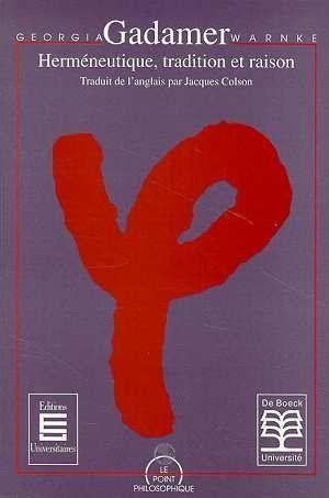 L'Universalité de la pensée herméneutique chez Gadamer ::: Dr.Mohammed Chaouki ZINE