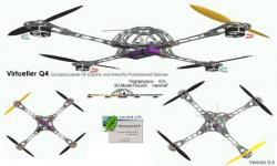 Q4 quadricopter pour Aerofly
