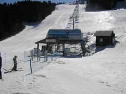 Télésiège du grand Paul station de ski du Collet d'Allevard