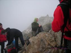 Pause au sommet du Petit Vignemale