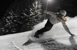 ski de nuit au Collet d'Allevard