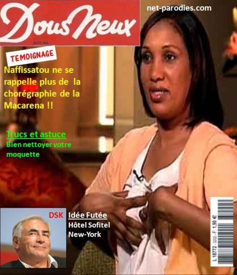 parodie fausse couverture revue magasine nous deux